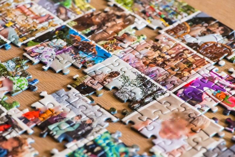 Fotocollage Puzzle selber machen fotopuzzle 10