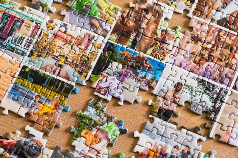 Fotocollage Puzzle selber machen fotopuzzle 11