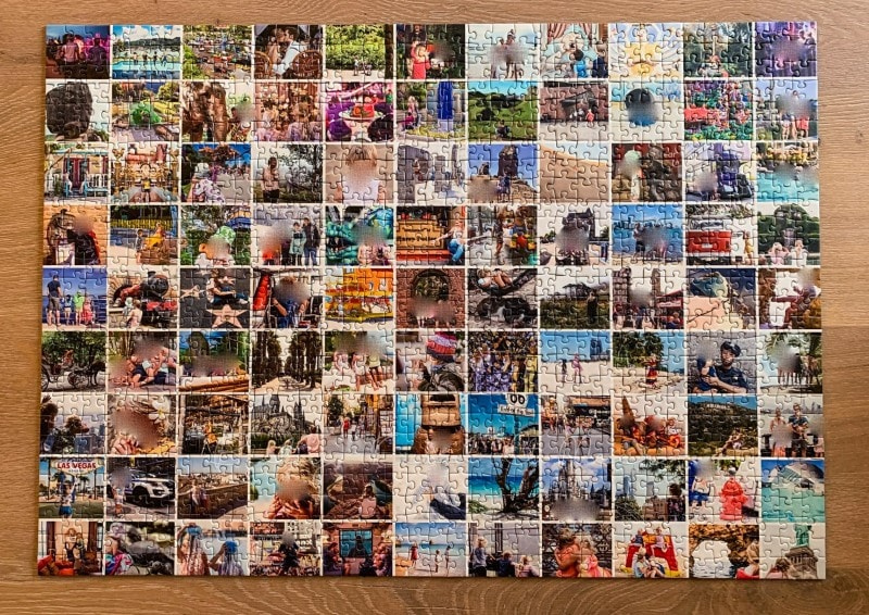 Fotocollage Puzzle selber machen fotopuzzle 14