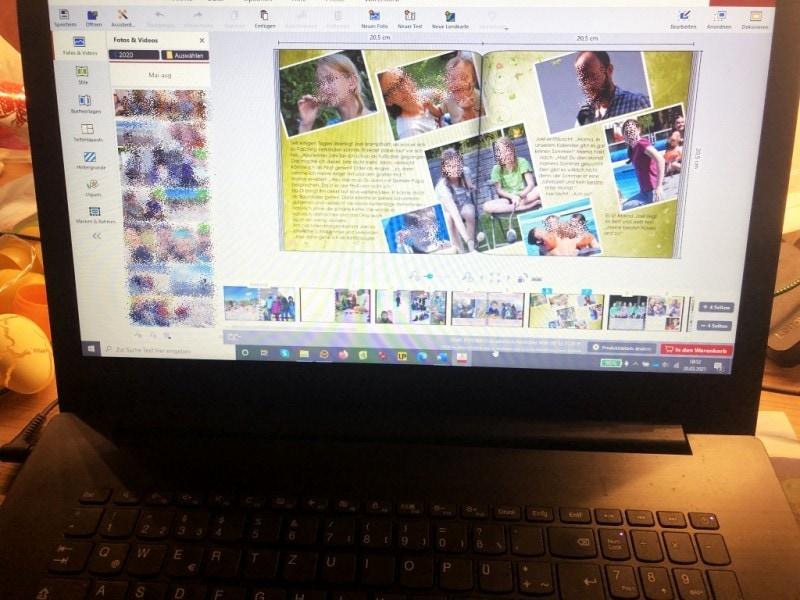 bKM Fotobuch auf PC