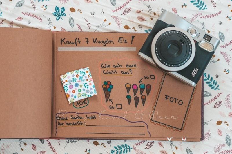 Adventure Buch Schnitzeljagd Fotobuch Kindergeburtstag babykindundmeer 11