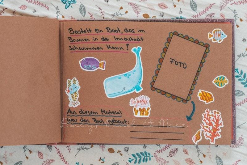 Adventure Buch Schnitzeljagd Fotobuch Kindergeburtstag babykindundmeer 12