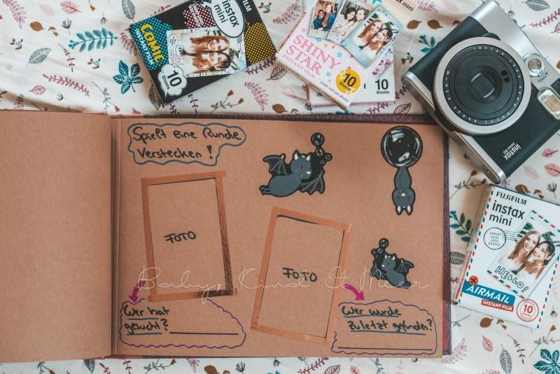 Adventure Buch Schnitzeljagd Fotobuch Kindergeburtstag babykindundmeer 13