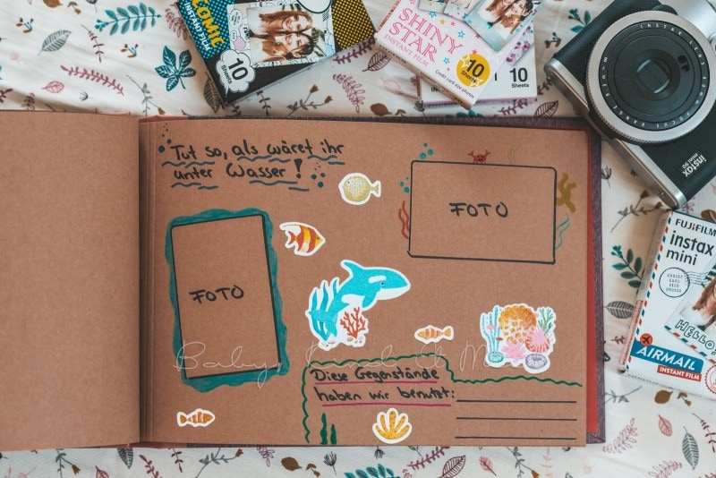 Adventure Buch Schnitzeljagd Fotobuch Kindergeburtstag babykindundmeer 14