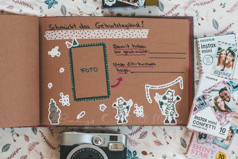 Adventure Buch Schnitzeljagd Fotobuch Kindergeburtstag babykindundmeer 15
