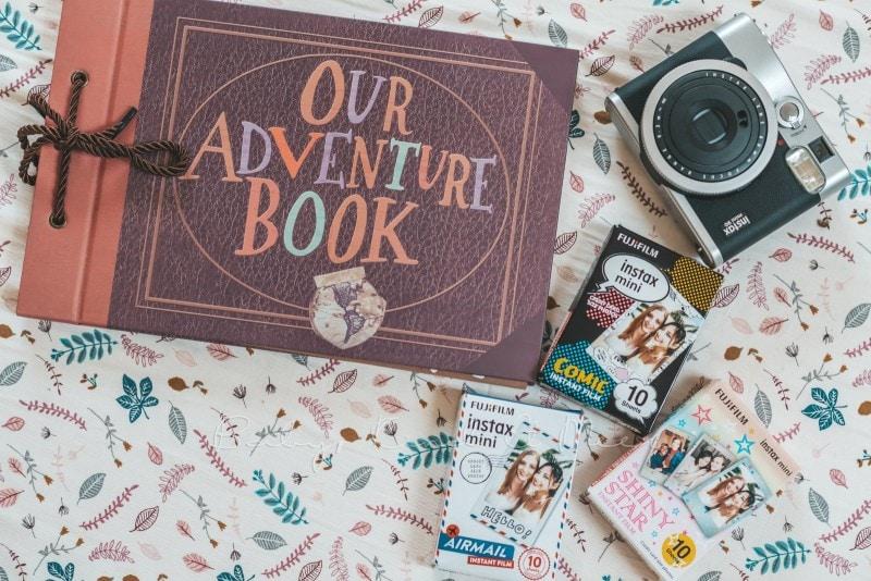 Adventure Buch Schnitzeljagd Fotobuch Kindergeburtstag babykindundmeer 2