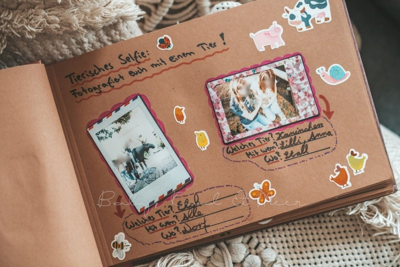 Adventure Buch Schnitzeljagd Fotobuch Kindergeburtstag babykindundmeer 20