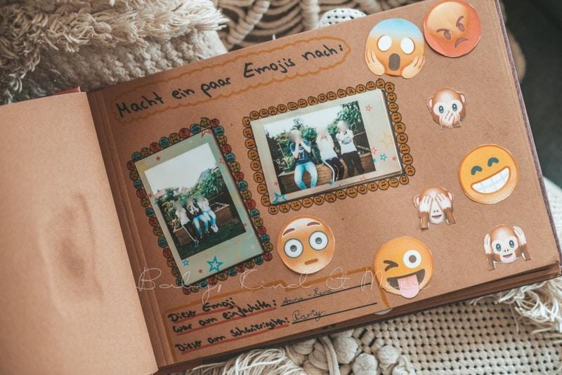 Adventure Buch Schnitzeljagd Fotobuch Kindergeburtstag babykindundmeer 22