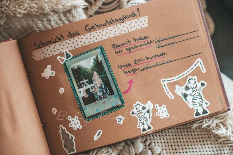 Adventure Buch Schnitzeljagd Fotobuch Kindergeburtstag babykindundmeer 26
