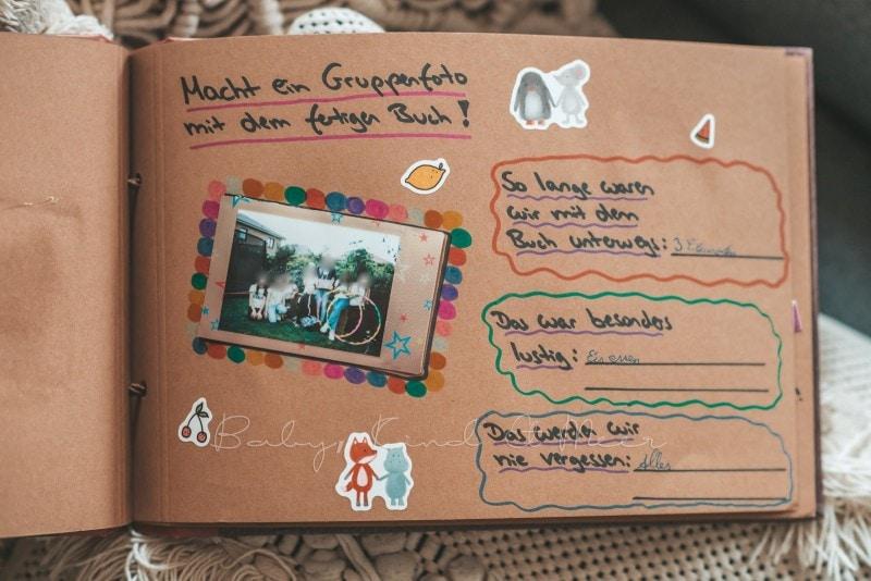 Adventure Buch Schnitzeljagd Fotobuch Kindergeburtstag babykindundmeer 27
