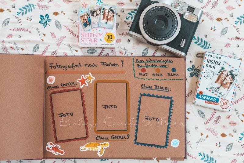Adventure Buch Schnitzeljagd Fotobuch Kindergeburtstag babykindundmeer 5