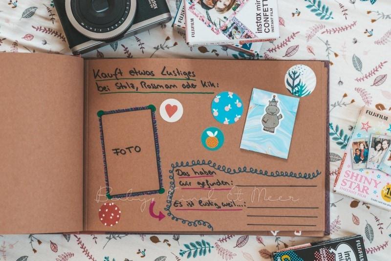 Adventure Buch Schnitzeljagd Fotobuch Kindergeburtstag babykindundmeer 9